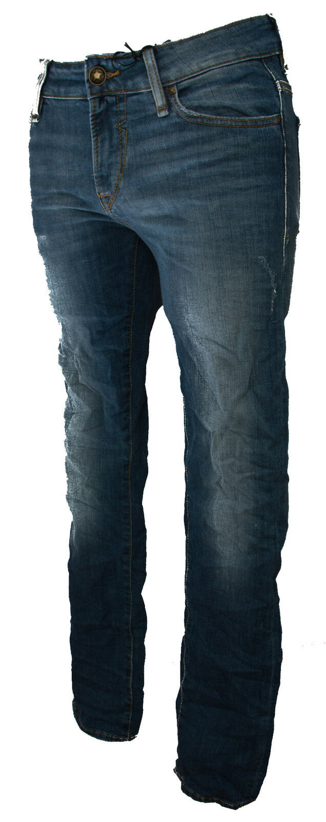 Pantalone jeans skinny  a.M52AN2  zip GUESS a.M52AN2  D1SH0 taglia 29 colore AGRE 75f1ad