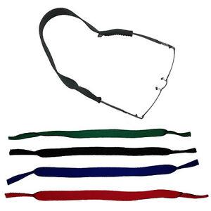 TOP-2-Stueck-NEOPREN-Sportband-Brillenband-Brillenkordel-in-4-Farben-NEU