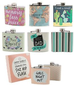 New-Gent-Ladies-Hip-Flask-Festival-Party-Pocket-Size-Stainless-Steel-Out