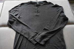Mens-TIMBERLAND-Long-Sleeve-Cotton-Crewneck-Casual-Gray-Shirt-NWOT-Size-2X