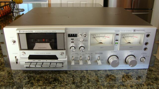Kenwood KX-1060 Vintage Stereo Cassette Deck 3 Head, Double Dolby System