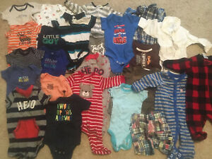 0 3 Months Baby Boy Clothes Lot 24 Items Gently Used Smoke Free Home Ebay