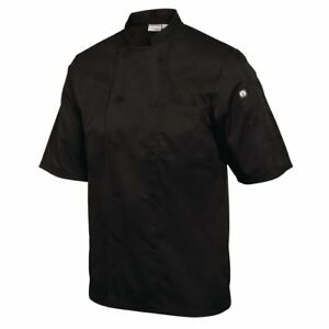 Colour By Chef Works Unisex Coat Jacket Top 3//4 Sleeve Polycotton Workwear