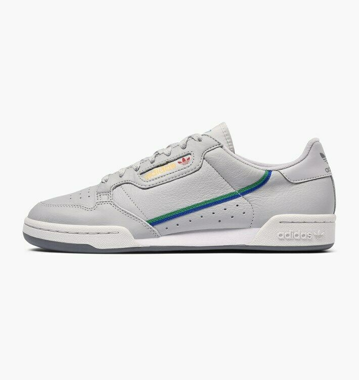 Adidas Originals Men's Continental 80 shoes NEW AUTHENTIC Grey Multi CG7128