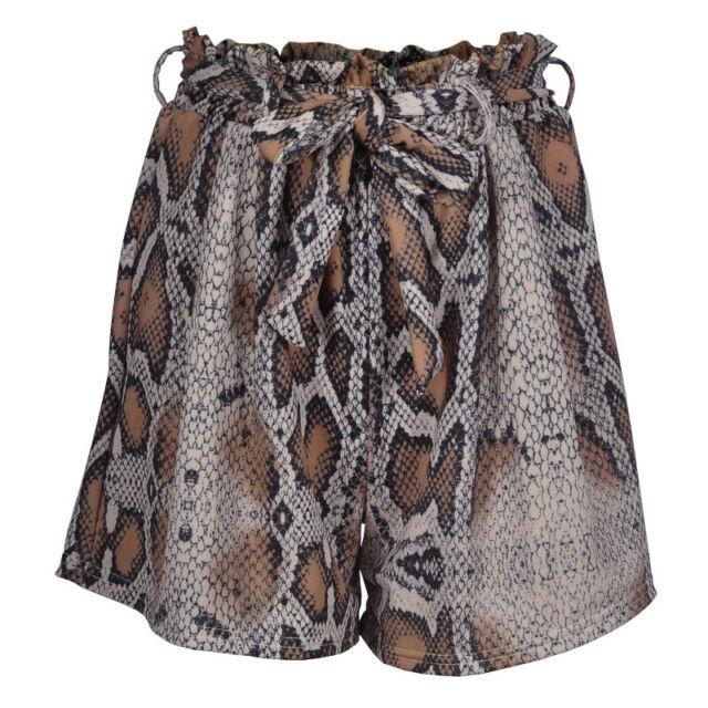 Zimmermann Corsage Safari PantHigh Waist Wide Leg Linen Snake Print $815 RP