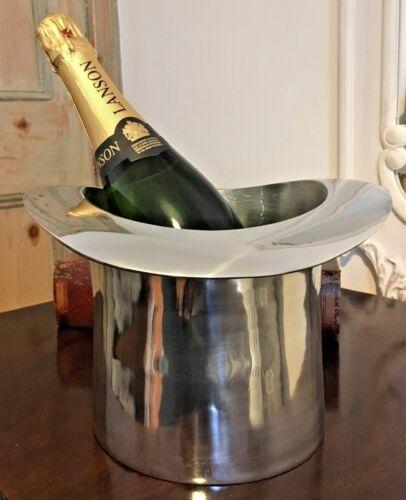 Polies en Aluminium Top Chapeau de Seau à glace//champagne rafraichissoir 17 x 25 x 26 cm