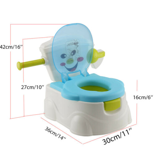 Baby Child Toddler Potty Training Seat Baby Kids Toilet Urinal Trainer Chair
