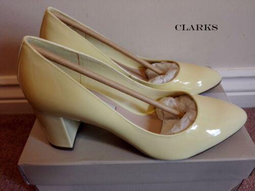 Court Rrp Classic lichtgeel Cloud Uk Clarks 60 Blissful 4 Nieuwe Shoes Pat £ Eu37 wnqfT1xR