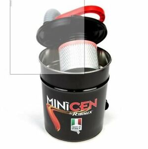 Bidone Aspiracenere Ribimex Minicen 800w Aspira cenere pellet Caminetti 27659