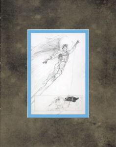 UNCANNY-X-FORCE-2-Professionally-Matted-PRINT-Bianchi-artwork-ANGEL