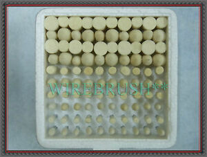 """HARD TAPER Jewelry Wool Felt Bob Polishing Rotary Point 12 x 4mm 5//32/"""" inch"""