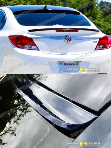 COLOR PAINTED K-STYLE REAR ROOF SPOILER FOR 09-14 BUICK REGAL SEDAN 4D