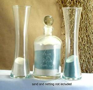 Wedding-Unity-Sand-Ceremony-Set-Personalized-glass-top-curved-vase-Euro-style