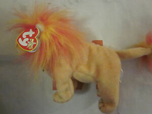 Image is loading TY-BEANIE-BABY-BUSHY-THE-LION-KING-2000 6f7789fc88a4
