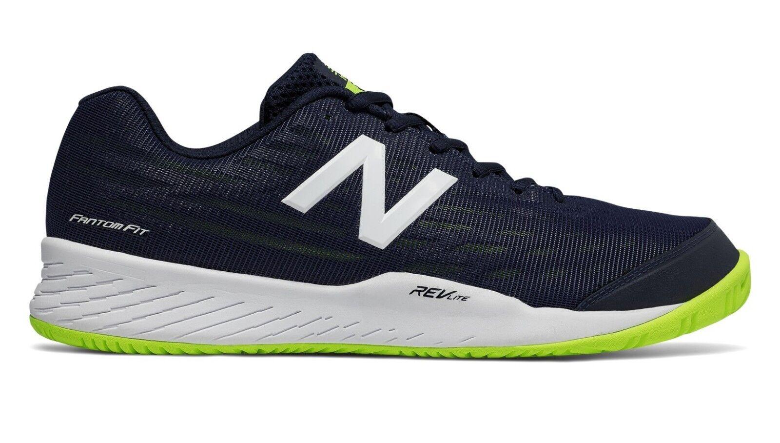 New Balance MCH896H2 Men's 896v2 bluee Green Lightweight Hard Court Tennis shoes