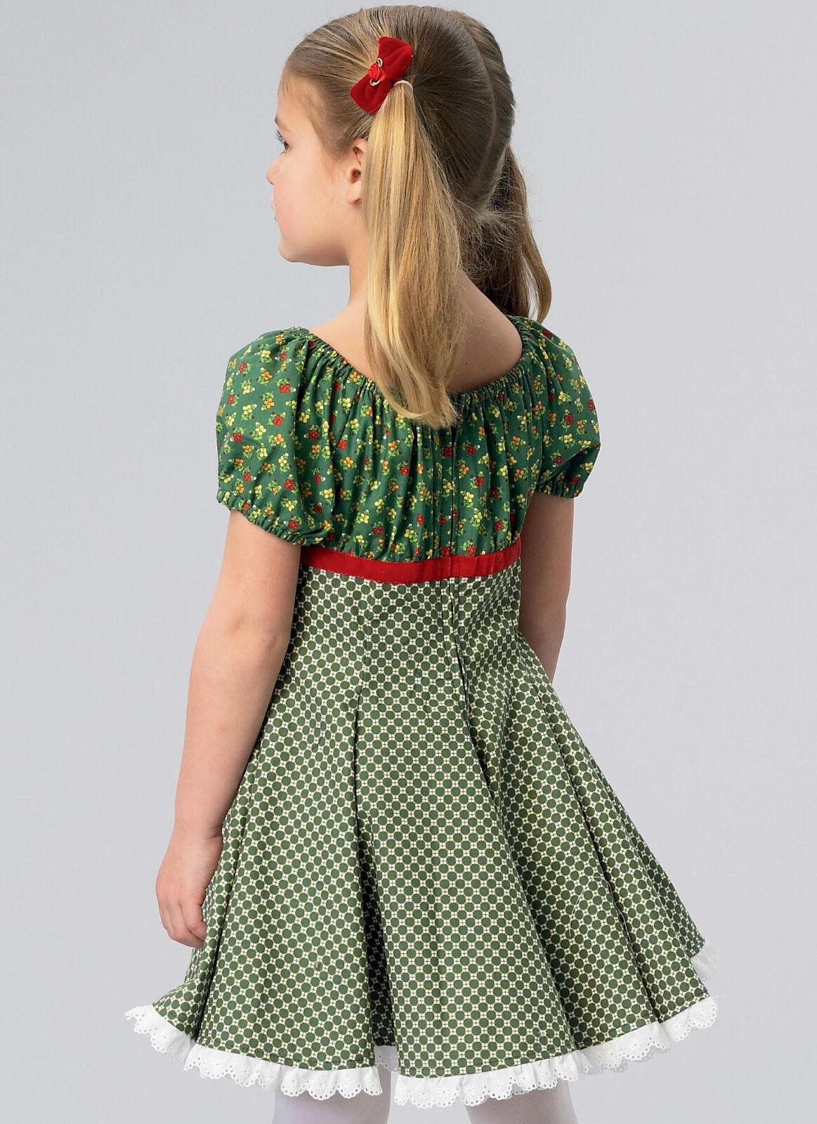 Ellie Mae Designs K185 Sweet Party Dresses Size 3-10 Long Short Sleeve Pretty