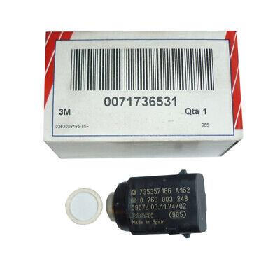 1x OPEL ASTRA H TWINTOP PDC SENSOR Z20R schwarz 12787793 3 polig JU61