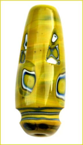 13,30€//m 4x6mm Murrinistange 300mm Pastell Gelb-Weiss-Schwarz