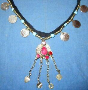 Necklace-Medallion-Coin-Afghan-Tribal-Kuchi-Alpaca-Silver-24-034