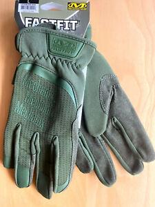 Mechanix-Fastfit-Gen2-OD-Green-Tactical-Gloves-Einsatz-Dienst-Handschuhe-BW-Army