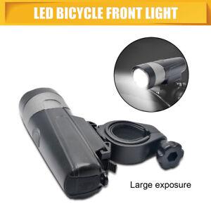 LUCI-FANALE-TORCIA-BICI-RICARICABILE-USB-LED-IMPERMEABILE-MTB-BICICLETTA-FARO-IT