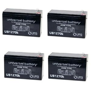 UPG 12V 8AH F2 FOR  Razor Pocket Rocket 15120040 Mini Bike Battery WITH CHARGER