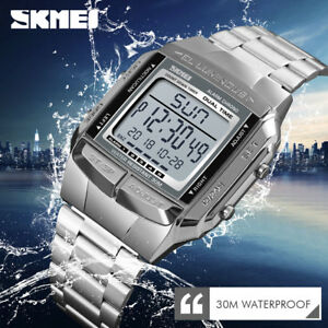 SKMEI-Watch-Luxury-Sport-Mens-Watches-Waterproof-LED-Digital-Military-Wristwatch