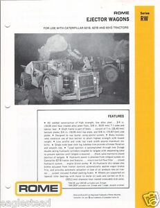 Equipment-Brochure-Rome-RW-Ejector-Wagons-for-CAT-Mining-1978-EB988