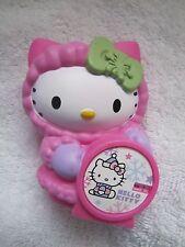 "2011 McDONALDS 3.5"" Sanrio HELLO Snow KITTY w CALENDAR DATE Happy Meal Toy  #6"