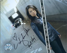 "MING-NA WEN SHARP SIGNED COLOR 8x10 PHOTO ""AGENTS OF S.H.I.E.L.D"" ""MULAN"" #003"