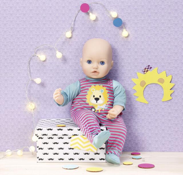 Babypuppen & Zubehör Zapf Creation Dolly Moda Strampler Elefant 38-46 cm Pink