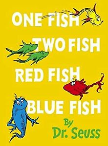 One Fish, Two Fish, Red Fish, Blue Fish: Mini Edition (Dr Seuss Mini Edition), S