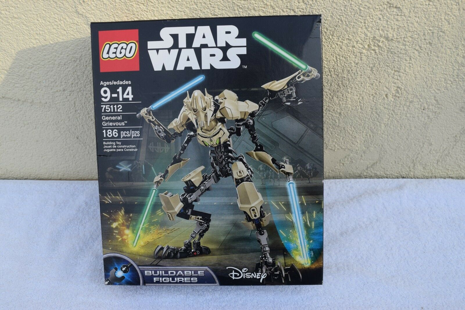 LEGO 75112 General Grievous Buildable Figure Retired Sealed Star Wars US Seller