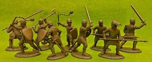French-Men-at-Arms-amp-Armati-Medieval-Knights-1-32-54MM-Expeditionary-Force-Toy