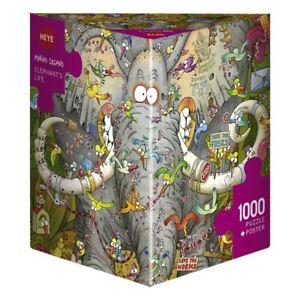 MARINO DEGANO - ELEPHANT'S LIFE - Heye Puzzle 29921 - 1000 Teile Pcs.