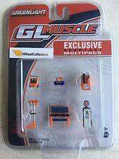Orange Gulf Oil * Greenlight GL Muscle * Shop Tool Multipack * GULF OIL * HB3