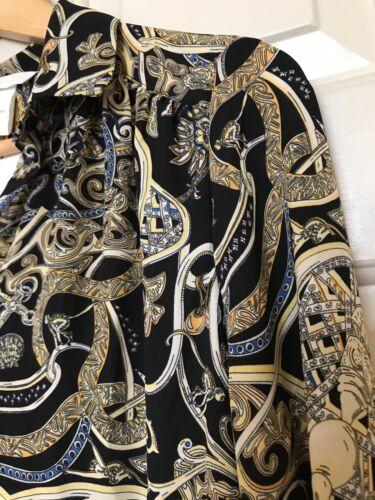 m taglia Fashion maniche H Camicetta nera 6 fantasia Nwt Everyday a lunghe aw5TqaR