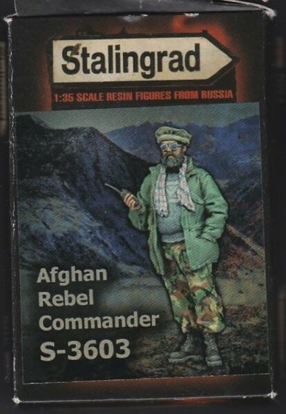 Franc Stalingrad S-3603 - Afghan Rebel Commander - 1/35 Resin Kit