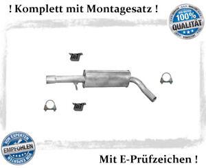 Mittelschalldaempfer-VW-Bora-1-6-FSi-2-0-Auspuff-Mitteltopf-Montagesatz