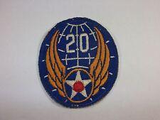 Armabzeichen U.S.Air Force 20th Air Force Frühe Fertigung 2WK oder Korea
