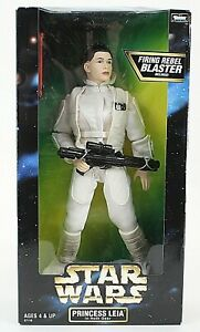 Kenner-Star-Wars-1998-Princess-Leia-Hoth-Gear-12-034-Poseable-Figure-1017T