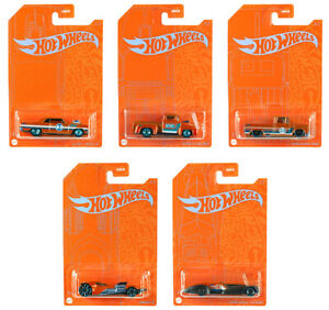 Orange-and-Blue-Set-5-Modellautos-2020-in-1-64-Hot-Wheels-GRR35-979A