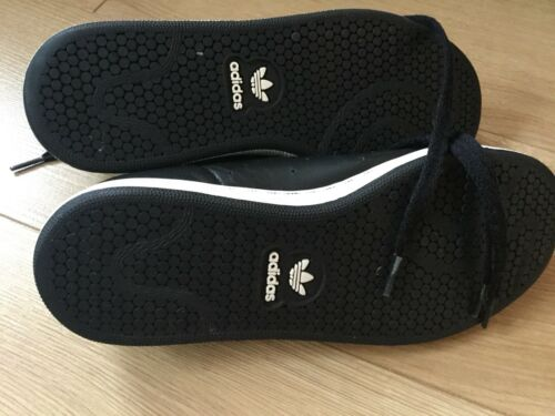 Originals in Stan Uk6 Adidas Smith pelle nera TS8BZwdq