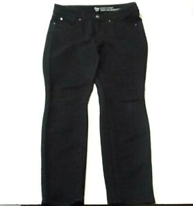 Gap-Womens-Jeans-Size-4-27-Ankle-Always-Skinny-Black-Denim-Stretch-Spandex