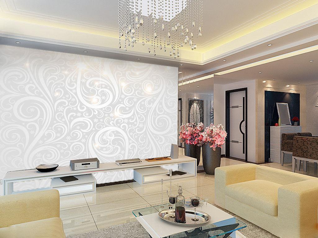 3D Euporean Floral 556 Wall Paper Wall Print Decal Wall Deco Indoor Mural Lemon