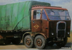 Scammell-8-Wheel-Truck-Haulage-Lorry-Commercial-Vehicle-Metal-Wall-Sign-New