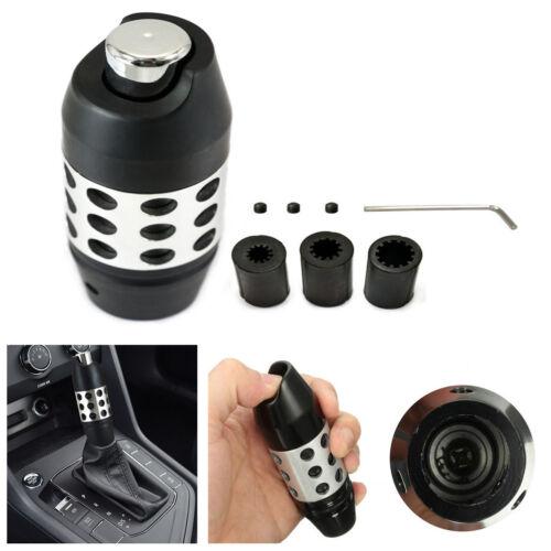 New Black Aluminum Gear Stick Shift Knob For Automatic Transmission Shifter Car