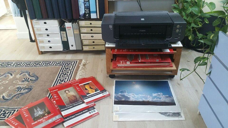 Fotoprinter, m. farve, Canon