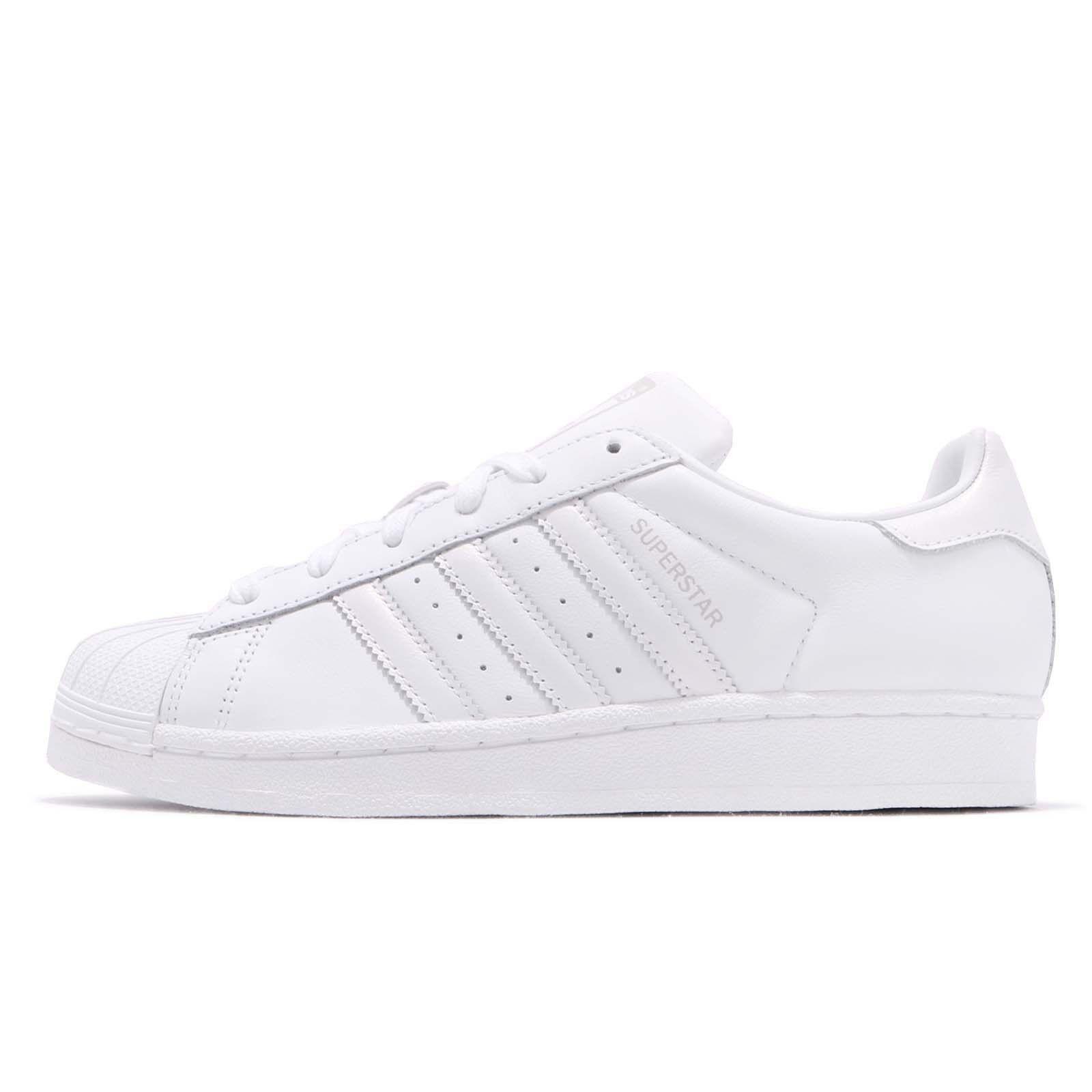 adidas Originals Superstar W Ξ›Ξ΅Ο…ΞΊΟŒ Γκρι Casual Ανδρικά παπούτσια AQ1214