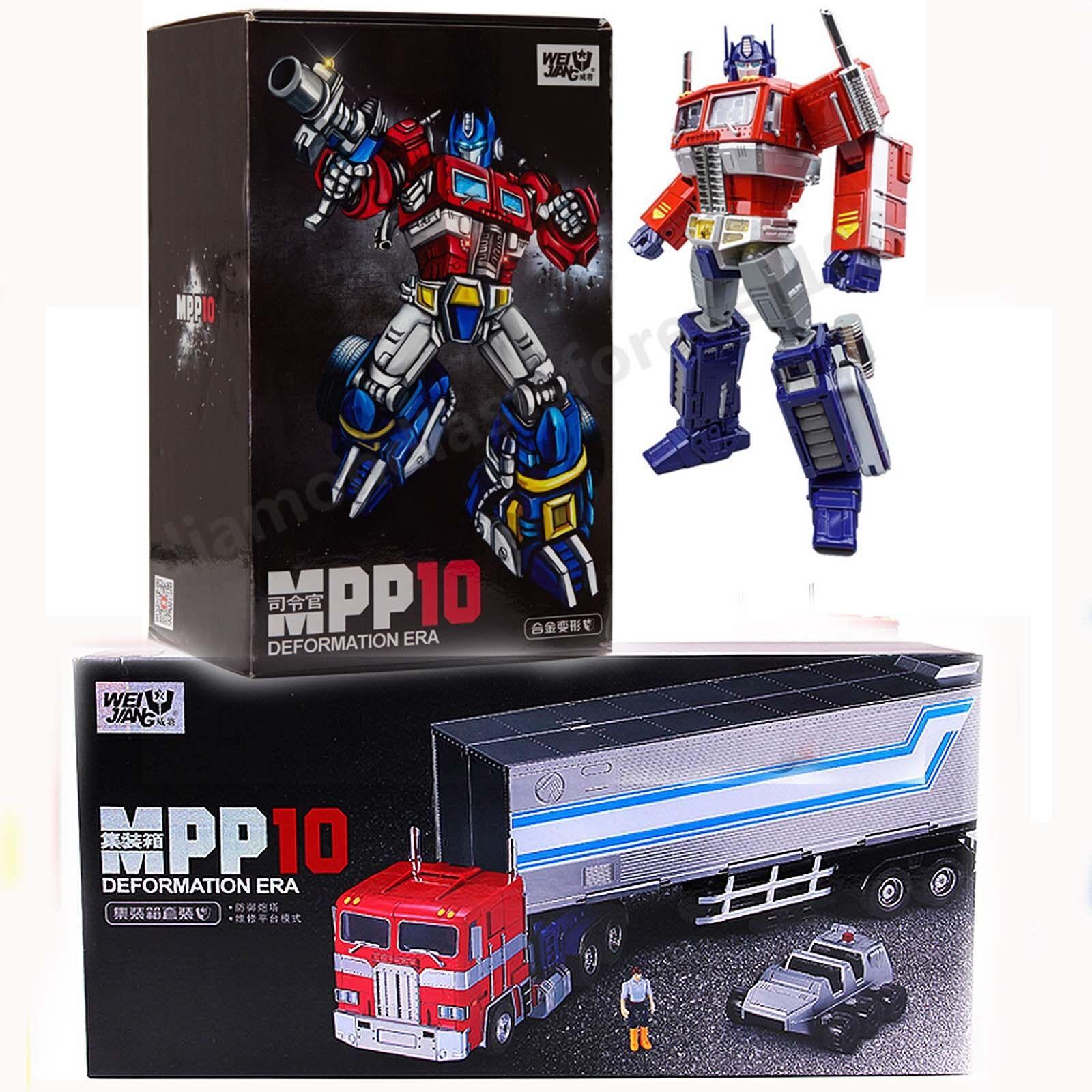 Mpp10, Transformers del Río Wai, Optimus Prime.